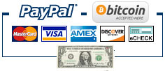 Picture of types of payment accepted