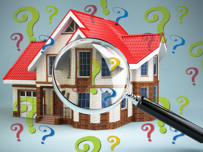 Questions about a home inspection
